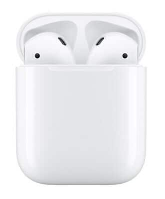 Refurbished Apple AirPods 2nd Gen with charging case $90.31