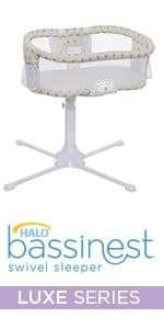 HALO Bassinest Swivel Sleeper Bassinet - Premiere Series $187 @ Amazon