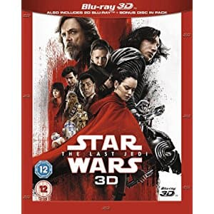 Star Wars: The Last Jedi [Blu-ray 3D] [2017] [Region Free] - £14.99 ($26.71 after shipping)