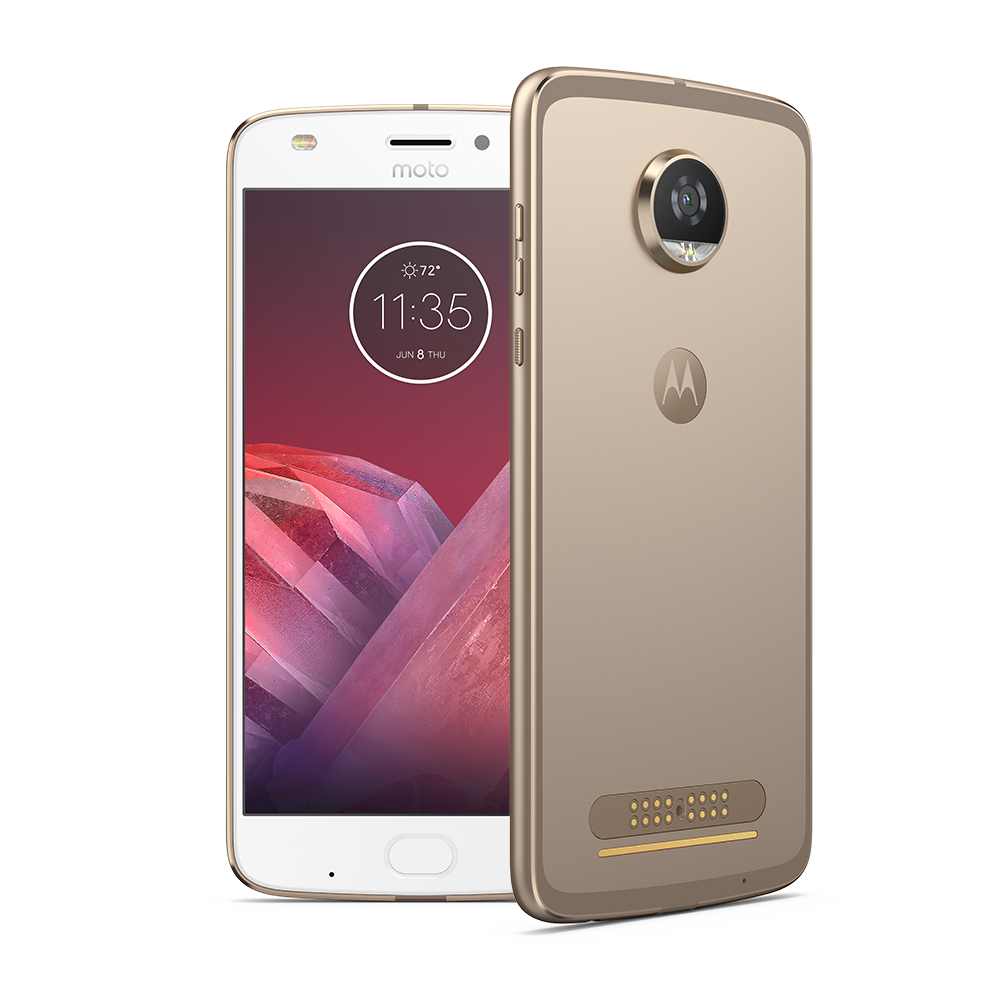 Moto Z2 Play 64 GB Unlocked (Gold Color Only) $349