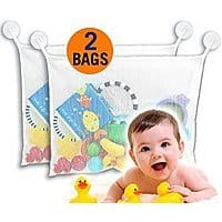 MoriBerry bath toy organizer for baby, toddlers or use as bath organizer - $  6.49 each - Amazon  - lowest price so far