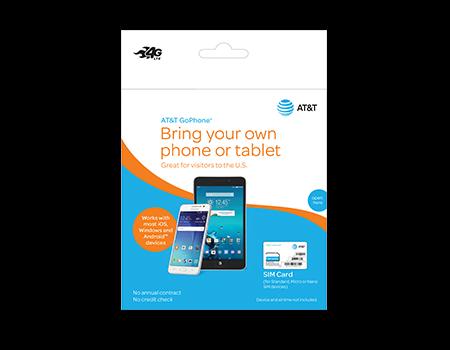 AT&T Prepaid SIM for GoPhone $0.99
