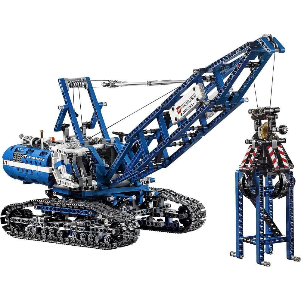 Two LEGO Technic Crawler Crane 42042+ 1 Minifigures =$206.24 FREE shipping and no tax