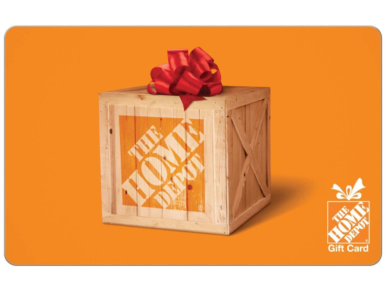 (Out of Stock) Newegg - $110 Home Depot Gift Card for $100. Limit 2