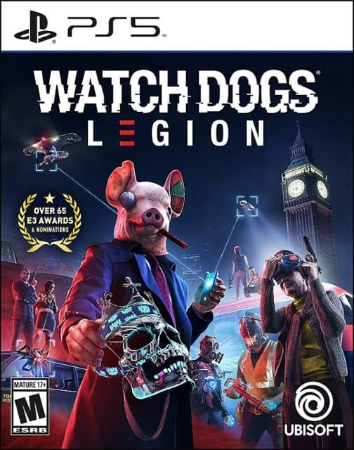 Watchdogs Legion PS5 and XBox Series X FS $29.95