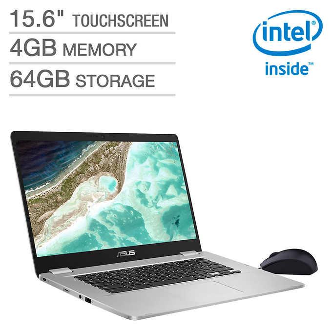 "Costco Members: Asus 15.6"" Chromebook - 1080p Touchscreen $319.99"
