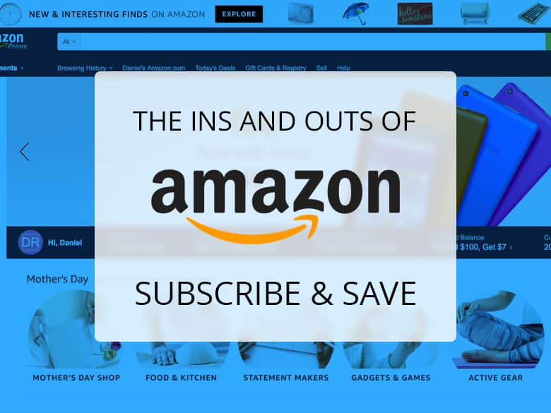 The ins and outs of amazon subscribe and save slickdeals we often see frontpage deals coming in by way of amazon subscribe and save but couldnt help but notice that the details of the program are a little fandeluxe Images