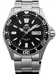 $199 orient mako usa ii black dial automatic dive watch with sapphire crystal #aa0200ab