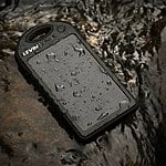 Levin Rain-resistant and Dirt/Shockproof Giant+ Solar Panel Charger 12000mAh $26.99 + FS @amazon