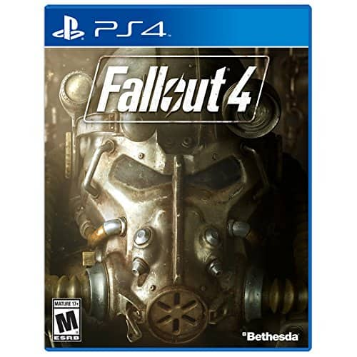 Fallout 4 for PS4 is $19.99 at Amazon, Target (add'l 35% off w/Cartwheel), Best Buy ($15.99 w/GCU). Xbox One version is $19.99 ($15.99 w/GCU) at Best Buy.