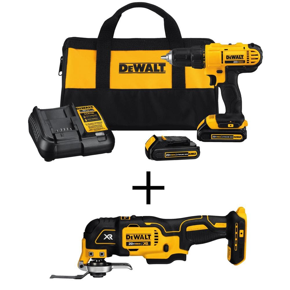 Dewalt drill with multi-tool for $129 at homedepot