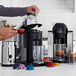 50% off selected Nespresso coffee machines (some including Aeroccino Milk Frother): $99.98 - $124.98