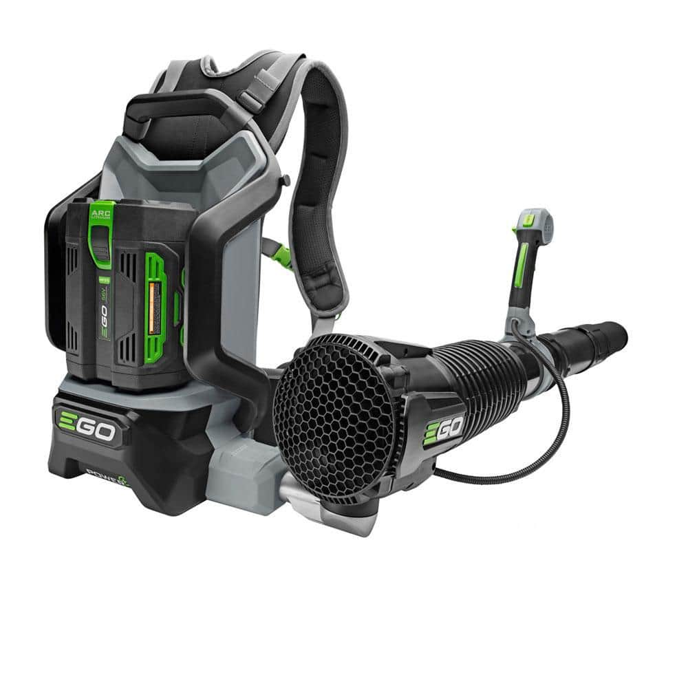 Homedepot: 145 MPH 600 CFM 56V Lithium-Ion Cordless Electric Backpack Blower, 5.0 Ah Battery and Charger Included for $249