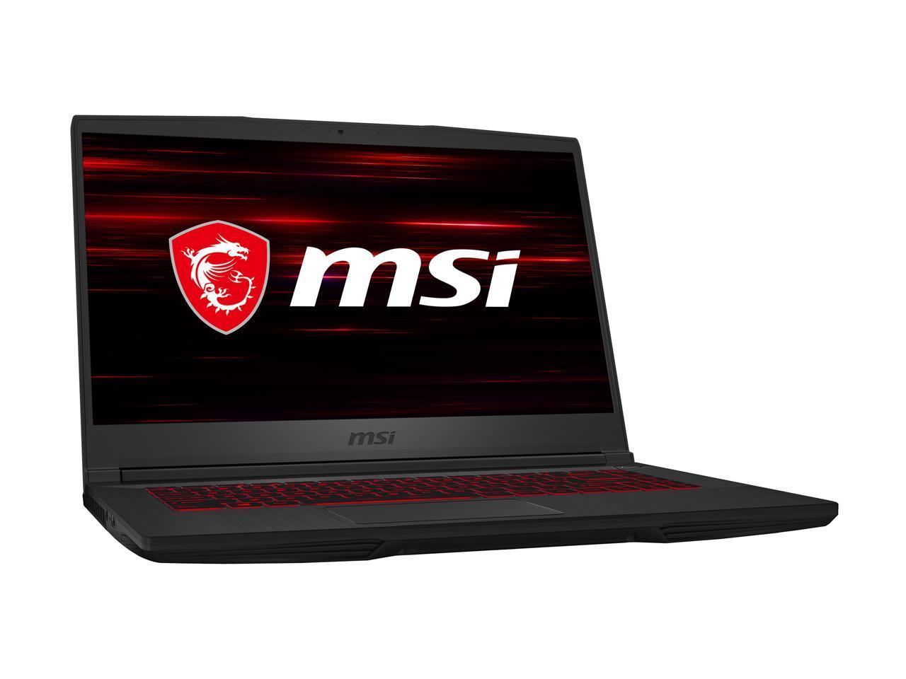 """MSI GF65 15.6"""" Laptop i5-9300H/RTX 2060/8 GB DDR4/512 GB SSD $779 AR/FS @ Newegg"""