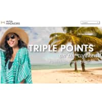 Hilton Hotels Deal: Hilton HHonors Triple Your Trip Weekends 9/1-12/31/2015
