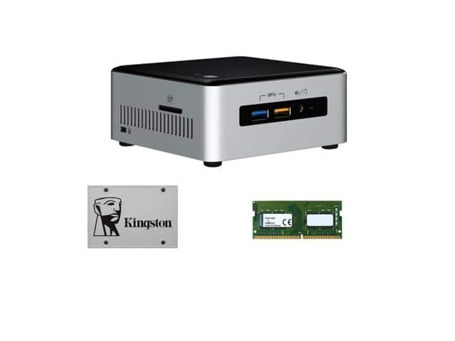 Intel NUC6i3SYH PC i3-6100 + 8GB RAM + 120 GB SSD - $299.99 @ Newegg FS
