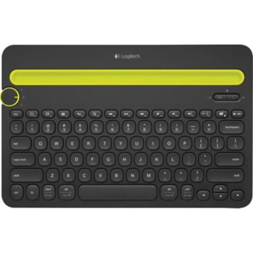 Logitech K480 Wireless Bluetooth Keyboard, Black $18.09 @ Staples after PM