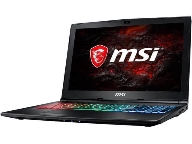 MSI GP62MVRX Gaming Notebook i7/GTX 1060 $1029 AR/FS