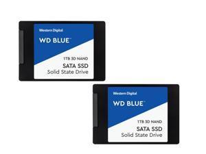 """2 x 1TB WD Blue 2.5"""" SATA SSD drives $179.98 @ Newegg AC/FS $179.98"""