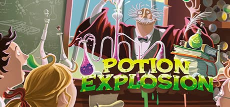 Potion Explosion (iOS, Google Play Store) $0.99, Steam $1.04