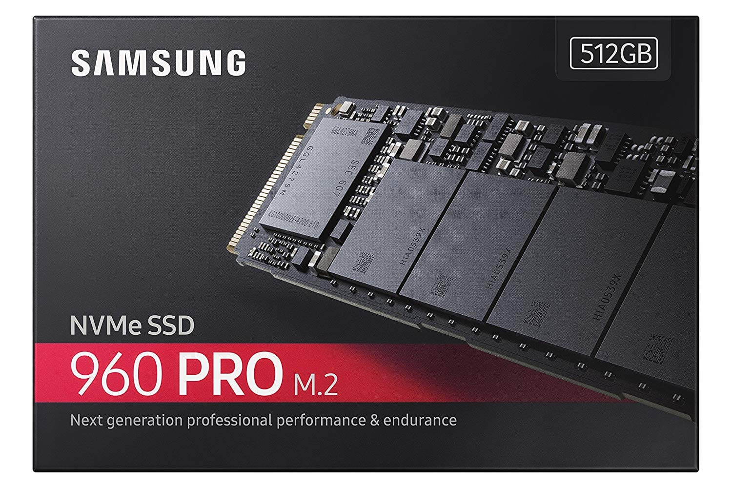 SAMSUNG 960 PRO M.2 512GB NVMe PCI-Express 3.0 x4 Internal Solid State Drive $216