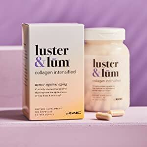 Amazon - YMMV Save 80% on your 1st S&S - From $2.25 - Luster & Lum by GNC Collagen Intensified, Promotes Skin Elasticity & Smoothness, Improves Skin Tone, Gluten-Free, 120 Capsules