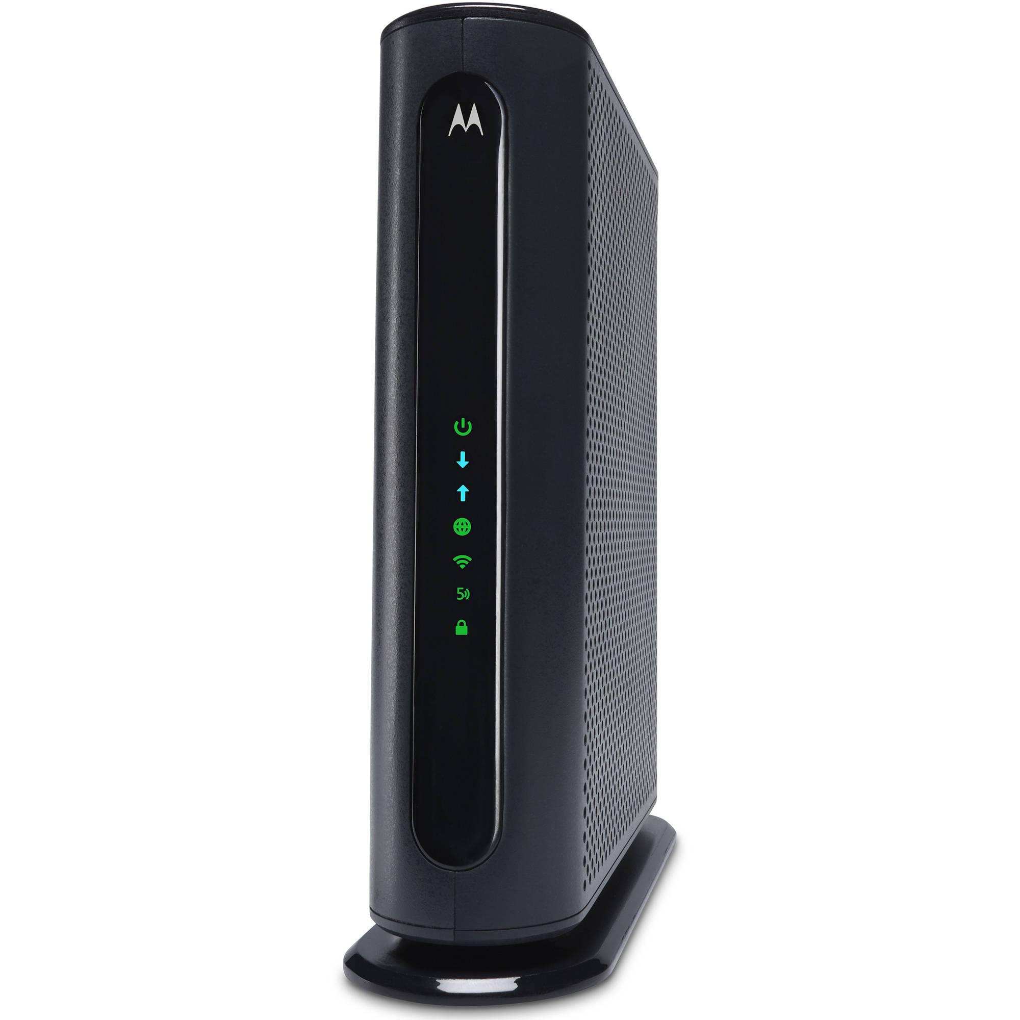 Motorola MG7550 cable modem /router combo $45 Walmart ymmv