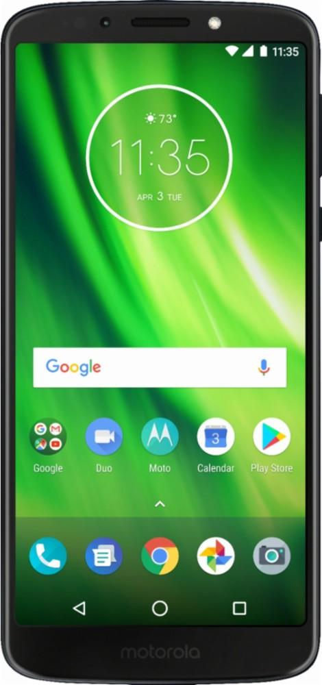 Virgin Mobile Motorola Moto G6 Play 16GB Prepaid Smartphone, Black