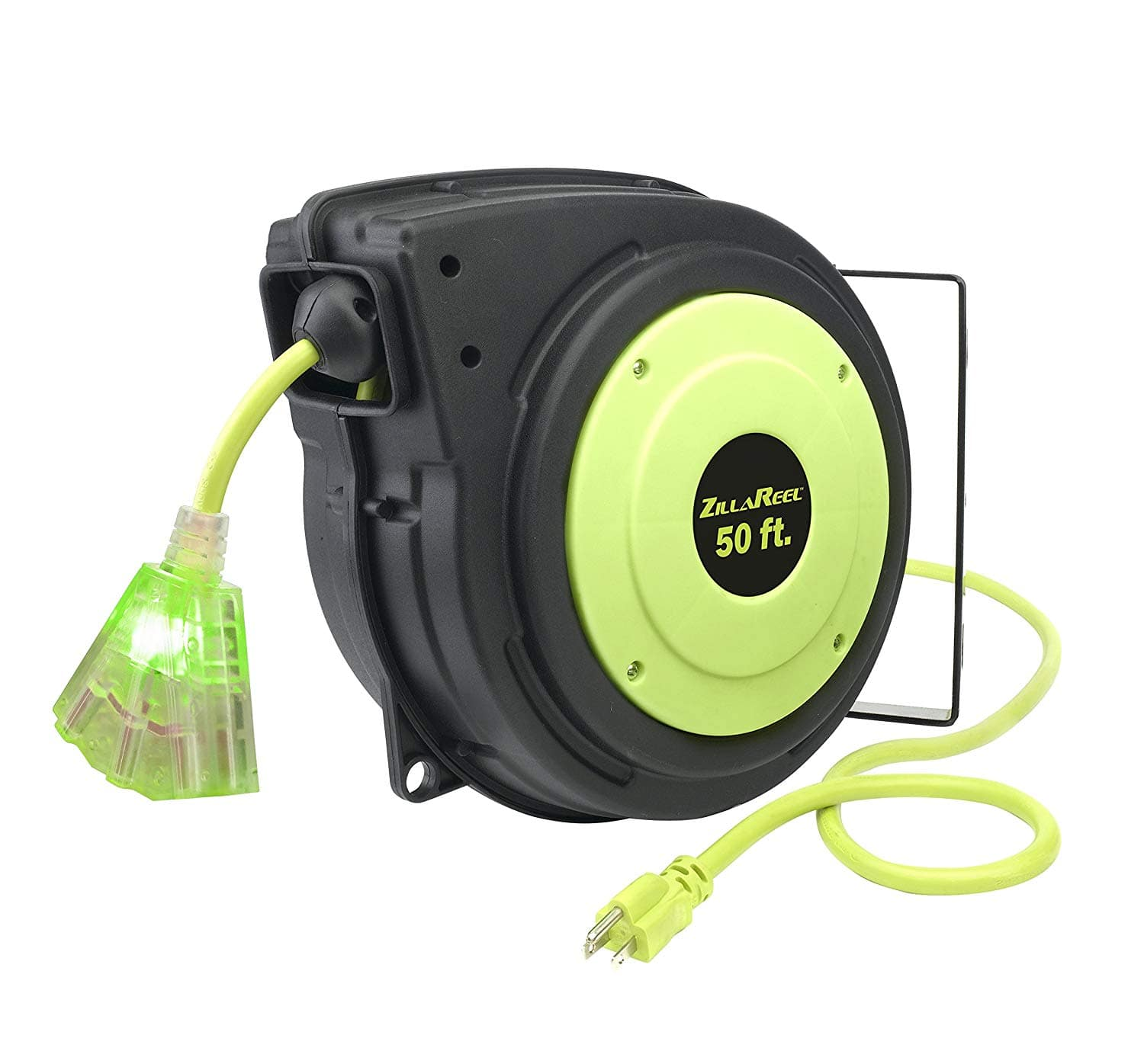 Back in stock - Amazon -  Flexzilla ZillaReel 50 ft. Retractable Extension Cord Reel - E8140503 - $49.81 (58% off) (reposting of my own deal)