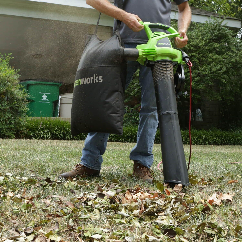 Amazon - Greenworks 24022 12 Amp MPH-375 2-Speed Blower/Vacuum, 230 MPH / 375 CFM - $34.73