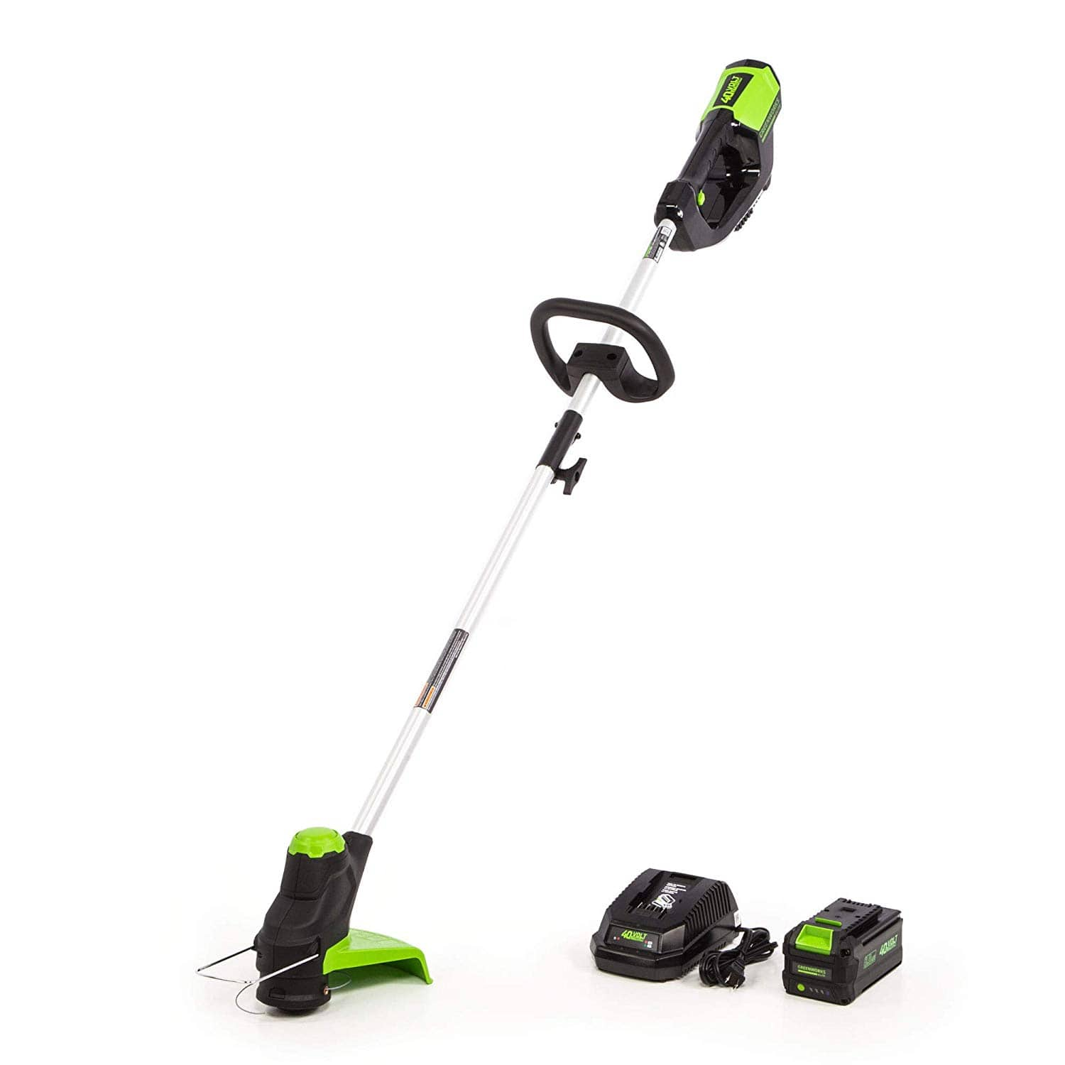 Amazon warehouse - Greenworks ST-120 12-Inch 40V Cordless String Trimmer - includes 3.0ah battery and charger - From $62.48