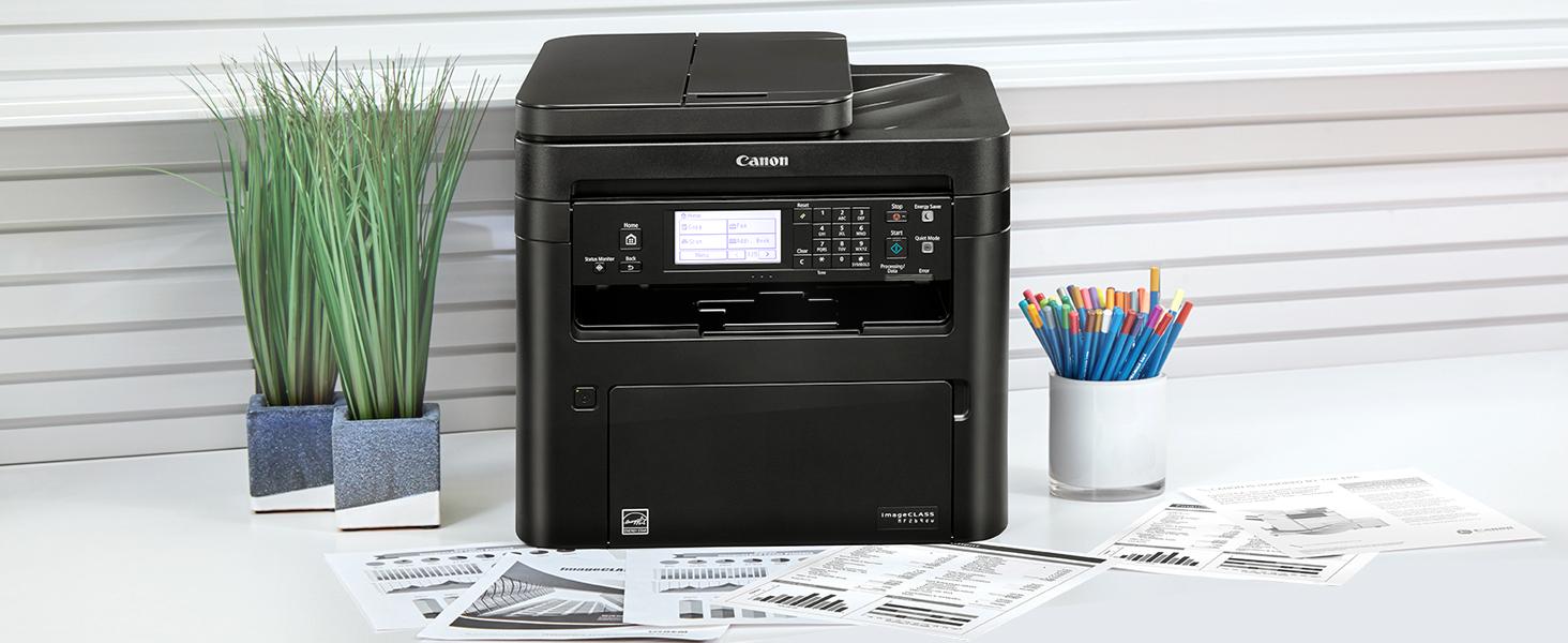Canon imageCLASS MF264dw Wireless Monochrome Multifunction Laser Printer $159.99 Shipped