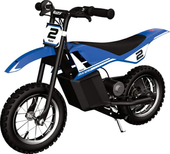 Razor Miniature Dirt Rocket MX125 Electric-Powered Dirt Bike - Recommended For Ages 7+ and Riders between 40 and 80 lbs - Walmart.com - Walmart.com 11/27