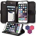 Abacus24-7 Apple iPhone 6S/ 6S Plus Wallet Case $3.99 & FREE Shipping