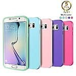 iPhone 6 6S Bumper Case, Samsung Galaxy S6 Edge TPU Case,5-pack color combo $7.99 AC @Amazon, Free Shipping w/ amazon prime