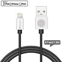 Amazon Deal: iOrange-E 6 Ft Lightning Cable, USB Sync Cable Charger with Premium Aluminum Connector $9.49 AC