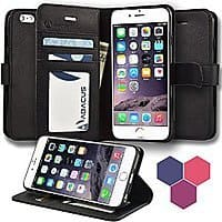 Amazon Deal: Abacus24-7 Apple iPhone 6S/ 6S Plus Wallet Case $3.99 & FREE Shipping