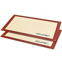 Amazon Deal: Silipro Non-stick Silicone Baking Mat Set 2pk $13.49 & FREE Shipping