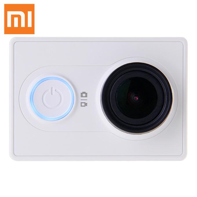 Original Xiaomi Yi Action Camera with Kingma Waterproof Case - White (Basic) with $79.99 + Free Shipping