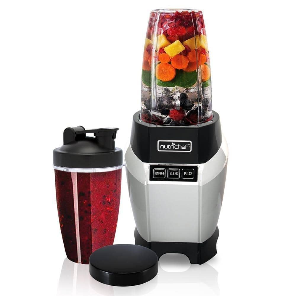 Nutrichef NCBL1000 Mini Blender for Shakes and Smoothies w/ 20 & 24 oz Cups for $48.60 AC & Free Shipping