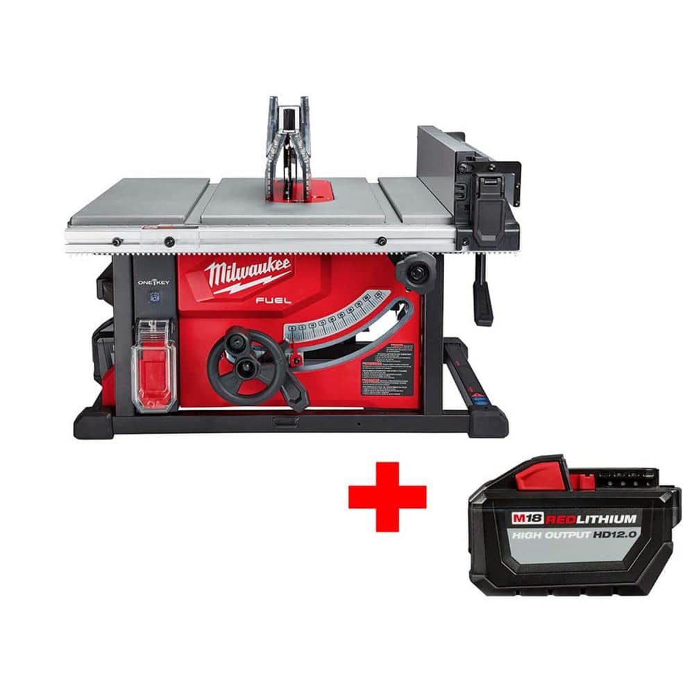 Milwaukee M18 Fuel one key table saw kit + free 12.0Ah battery $549 Home Depot