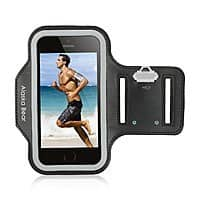 Amazon Deal: Alaska Bear® Pro Running Armband For iPhone 6, Samsung Galaxy S4/S5/S6, Weather Resistant with Key Holders [Black] $4.99 + FS @ Amazon
