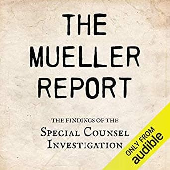 The Mueller Report Audiobook for Free $0.00