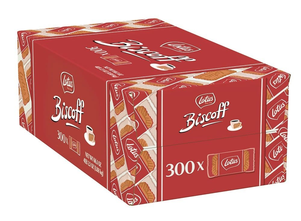 300-ct 0.2oz Lotus Biscoff European Biscuit Cookies $14.62