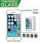 iPhone 5 Glass Screen Protector from amFilm $2.00 Prime Shipping after coupon.