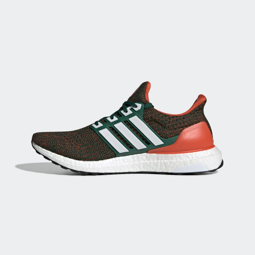 Adidas Ultraboost (Mens) - Dark Green/Cloud White $66.39 with free shipping
