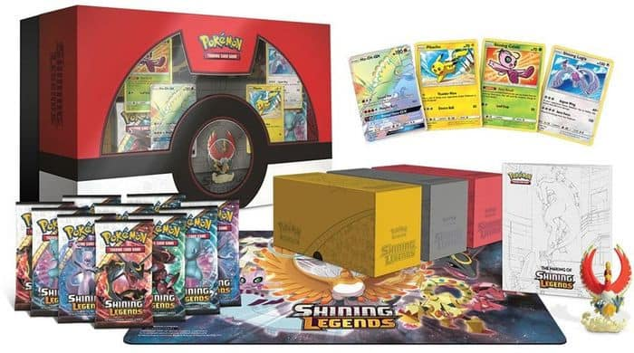 Pokemon TCG: Shining Legends Super-Premium Collection Featuring Ho-Oh $55.96