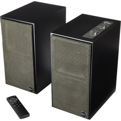 Klipsch The Fives Heritage Wireless 2-Way Powered Bluetooth Bookshelf Speakers (Matte Black, Pair) $499 at B&H Photo