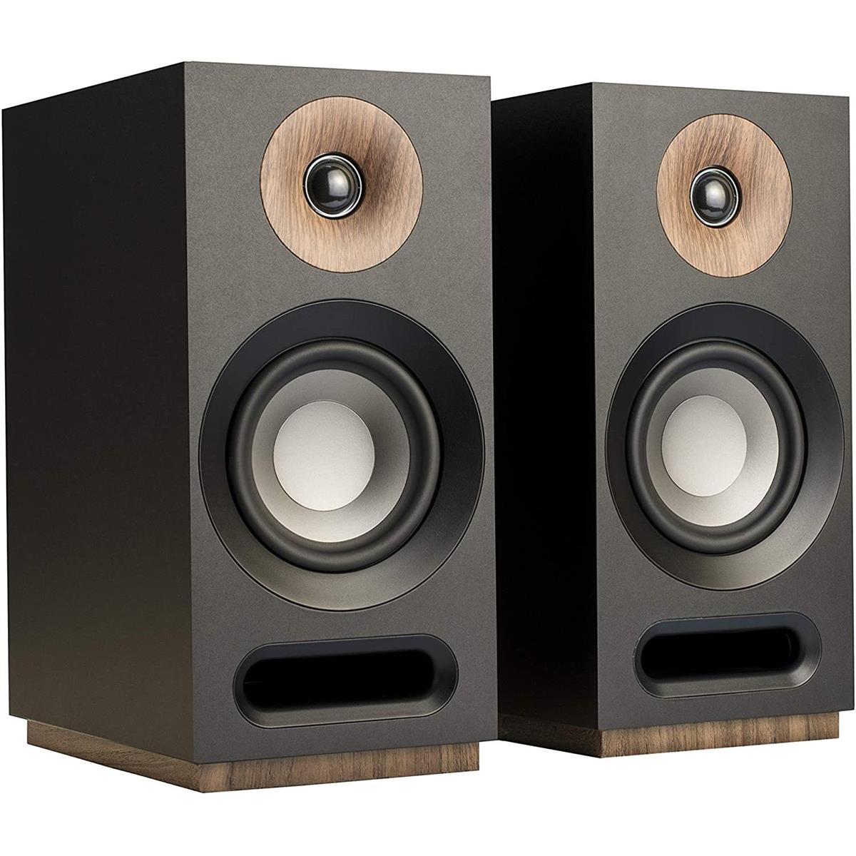 Jamo S 803 Dolby Atmos Bookshelf Speakers, Black, Pair $109