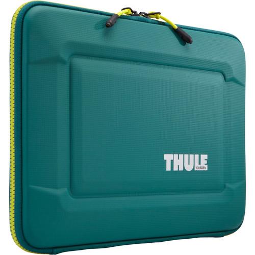 "Thule Gauntlet 3.0 15"" MacBook Pro Sleeve (Storm Green/Leichen Yellow) $19.95"